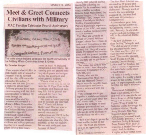 Meet and Greet Article